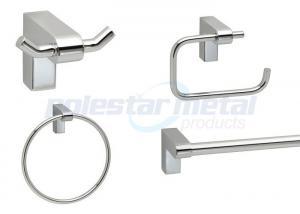 China Decorative Bathroom Hardware Oil Rubbed Bronze Kits / Bathroom Hardware Sets Brushed Nickel on sale