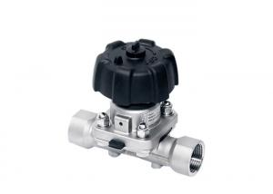 China Food Industry Pneumatic Diaphragm Valve , Actuated Stainless Steel Diaphragm Valve on sale