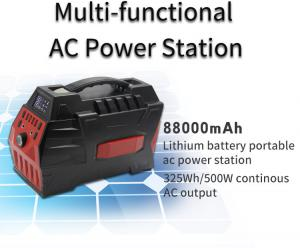 China 220v mobile power outdoor UPS factory direct supply solar energy storage box portable energy storage mobile power on sale