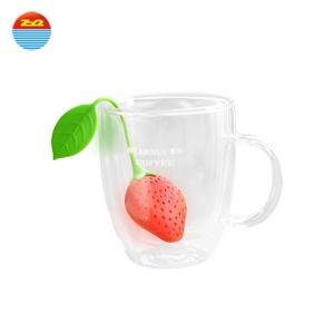 China Pretty Strawberry Cool Tea Strainers on sale