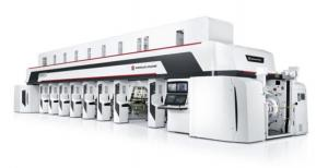 China Electronic Line Shaft Automatic Printing Machine 380KW Gravure Coating Machine on sale