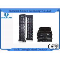 Single Person Security Multi Zone Metal Detector Gate At School / Airport