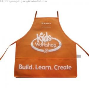 China Non-woven Apron for kid ,printed,Eco-Friendly, Waterproof,Non-woven Fabric Material on sale