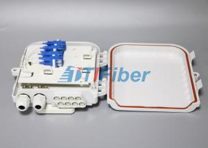 China Networks FTTH Distribution Box SC 8 Port Waterproof  , Fiber Termination Box on sale