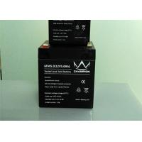 China Sealed Rechargeable 12v Agm Deep Cycle Battery For Alarm System on sale