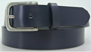 China Classic Ladies Trouser Belts , Navy Ladies Skinny Leather Belts OEM / ODM on sale