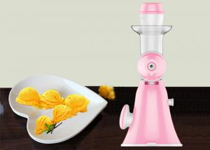 China Hand Fruit Ice Cream Maker Homemade Pure Juicer No Added Preservatives on sale
