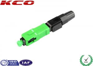 China Indoor Cable Fiber Optic Fast Connector SC APC FTTH Type Field Installable on sale