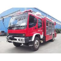 Emergency Fire Rescue Truck ISUZU Heavy Rescuewith 5 Tons XCMG Crane