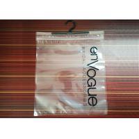 Transparent Packaging Garment Set Bag Zipper Packaging Plastic Bags