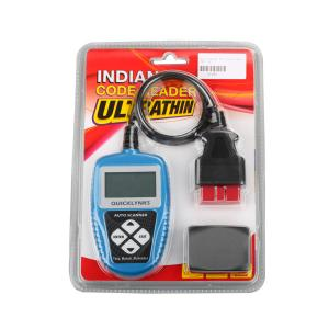 China 16 Pins Handheld OBD2 Scanner Codes , T65 English OBDII Fault Code Reader on sale