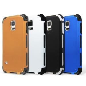 China 2 In 1 Colored Mobile Phone Samsung Galaxy S5 Cases  , Cell Phone Protective Covers on sale