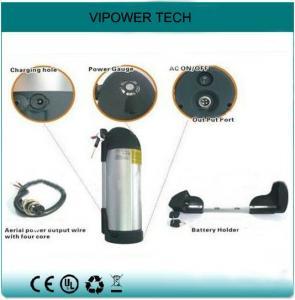 China baterías eléctricas de la bicicleta Ebike de la botella de agua recargable de ión de litio de la batería de 48V 10Ah on sale