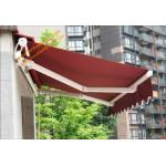 Aluminum Customized Sizes Retractable Electric  Patio Awnings for Outdoor Balcony and Villa