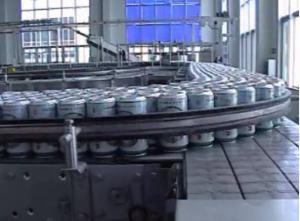 China Auto Aerosol Tin Can Filling Machine / Carbonated beverage filling plant 9000CPH on sale