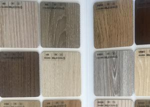 China 1.22m*2.44m Department Furniture Wood Melamine Board E1 Exprosso Color on sale