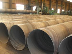 China Hot Dipped Galvanized API 5L Steel Pipe For Water Supply , Large Diameter API 5L X60 Pipe on sale