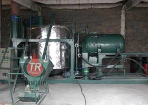 China Water Cooling Used Oil Processing Equipment , Easy Operation Oil Regeneration Machine on sale
