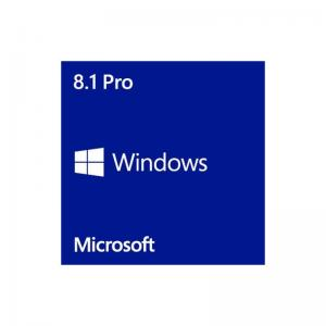 China 100% good License Key Code Microsoft Windows 8.1 professional Software online activation Win 8.1 Pro key on sale