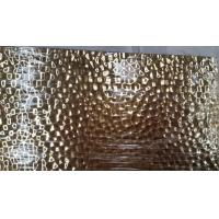 304 Hammered  Sheet Stainless Steel bronze gold color or brass hammered bright stainless steel