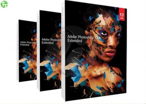 China Professional Adobe 3D Graphic Design Software , Adobe Photoshop CS 6 Extended on sale