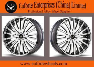 China Sushaの車輪-光沢の黒は大きいブレーキ キットによって凹面の車輪SAEJ2530を造りました on sale