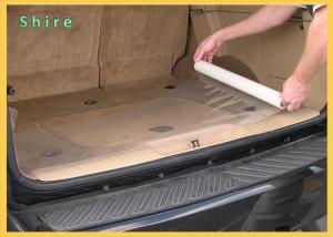 China PE Plasticover Carpet Protection Film 3/4 Mil Auto Carpet Plastic Sheet on sale