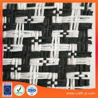 Textile straw wreath with fabric in paper material supplier from China