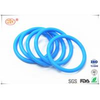 Durable Tasteless Rubber Silicone O Rings Anti Dust 30 - 85 Shore Hardness