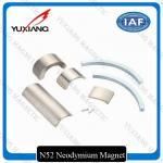32.8*9*2mm Ndfeb Permanent Magnet , Arc Segment Magnets Working Temp 80 To 230℃