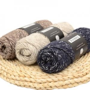 China Facory supplier fancy wool acrylic nylon blend air jet yarn on sale