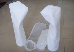 China Micron Nylon Mesh / Needle Liquid Filter Bag Plastic / Steel Ring for Water Filtration on sale