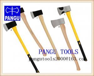 China A660 Collins axe, A601 michgan axe, single bit axe, hickory handle on sale