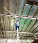 Aipukeji HVLS High Volume Ceiling Fans 20 Foot HVLS Industrial Big Size Ceiling Fan