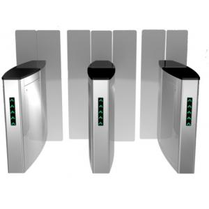 China Optical full height glass turnstile on sale