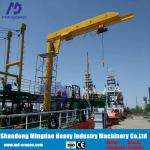 China Taian City Electric Hoist Jib Crane Lifting Equipment for Sale