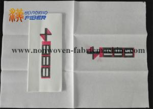 China Airlaid Paper Fiber Linen Like Guest Towels For Hotel / Home / Restaurant on sale