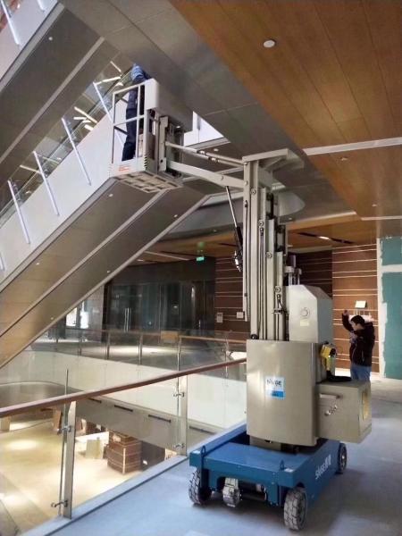10 m High quality Self Propelled Hydraulic One Man Lift boom lift