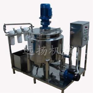 China emulsifier/emulsifying mixer shampoo making machine/liquid soap making machine on sale