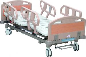 China Electric Adjustable Hospital Beds with Four pieces ABS guardrail on sale