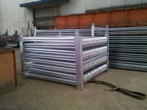 China Closed Type Cooling Tower Water Cooling Coil , Water Cooled Evaporator Coil on sale