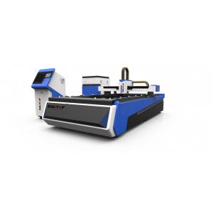 China 500W CNC fiber laser cutter for steel , brass and Alumnium industry processing on sale
