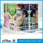 Custom Elegent Wedding Gift AcrylicPhoto Frame /Acrylic Paperweight and Block