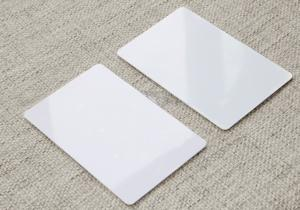 China NFC Compatible 1K Rfid Blank card/printable card used for workshop/membership card on sale