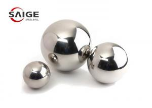 China Rustproof 9mm 316L Stainless Steel Balls High Polished For Industrial on sale