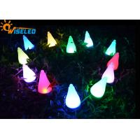 Colorful Small Solar LED Garden Lights Easy Install For Hanging / Insert / Ground
