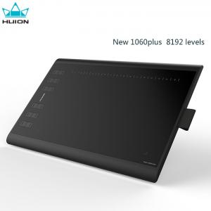China Huion new 1060plus 8192 levels drawing graphic tablet with Micro TF Card import material on sale