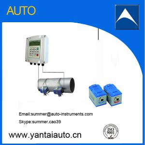 China Easy operating digital ultrasonic flow meter on sale