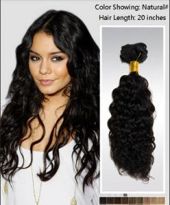 China Elegant 25 Inch / 26 Inch Curly Human Hair Wigs / brazilian curly hair extensions on sale