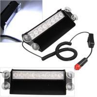 8Watt LED Vehicle Work With Remote Control & Car Cigarette Lighter / LED Emergency Strobe Lights